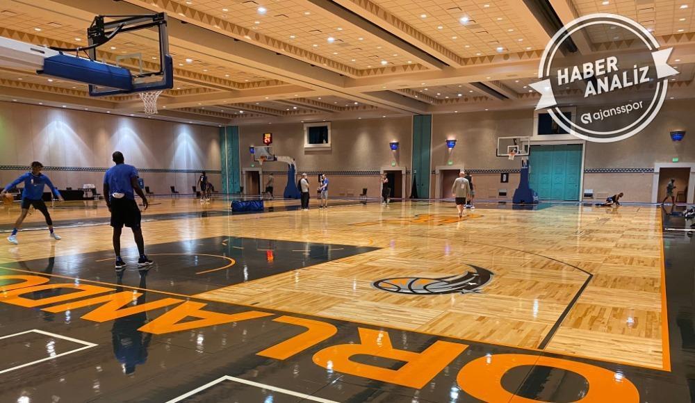 Orlando'da ilk antrenmanlar başladı! NBA dönüyor...
