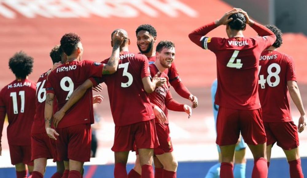 Liverpool'un rekorunu Burnley bitirdi