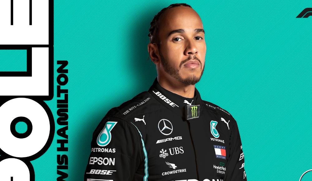 Formula 1'de sezonun ikinci pole pozisyonu Hamilton'ın