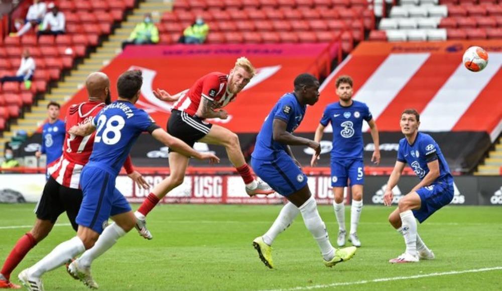 Sheffield United, Chelsea'yi sahadan sildi!