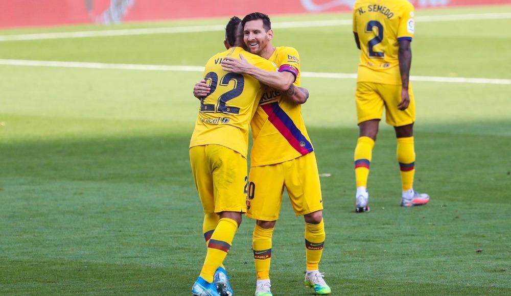 Barcelona deplasmanda hata yapmadı