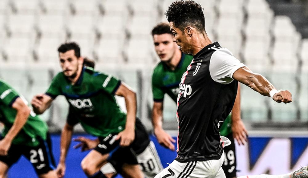 Juventus'u Ronaldo kurtardı