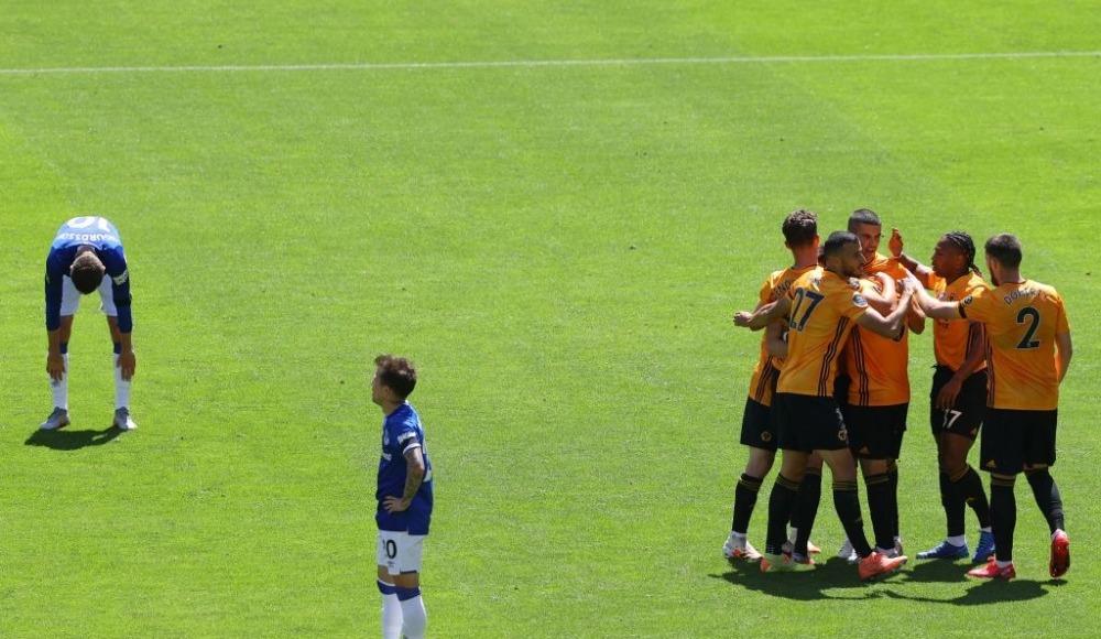 Wolverhampton, Everton'ı 3 golle geçti