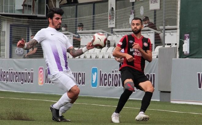 Keçiörengücü, sahasında Fatih Karagümrük'ü 3-0 ile geçti