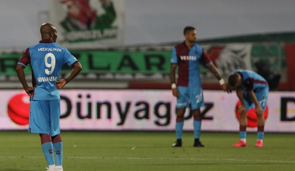 Trabzonspor, taraftarını ağlattı!