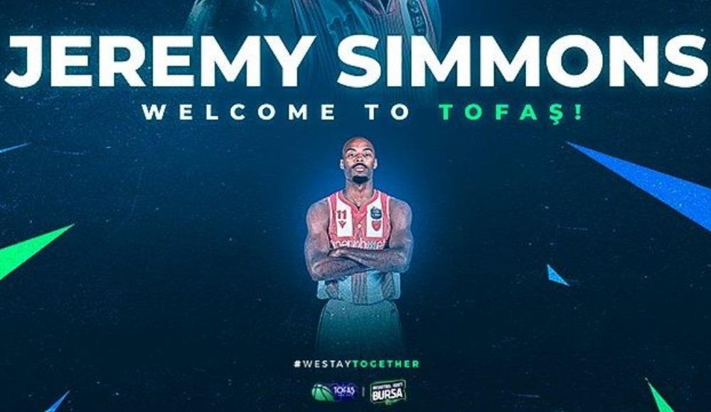 TOFAŞ, ABD'li pivot Jeremy Simmons'u transfer etti