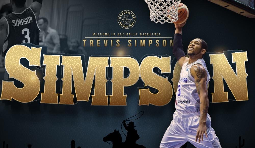 Gaziantep Basketbol oyun kurucu Trevis Simpson'ı kadrosuna kattı