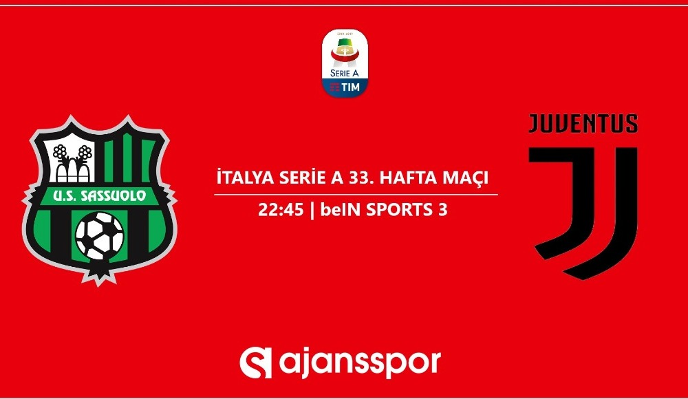 Sassuolo - Juventus (Canlı Skor)