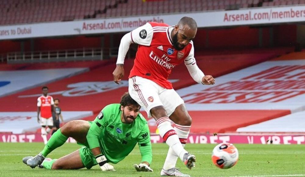 Arsenal, Liverpool'u 9 maç sonra yendi