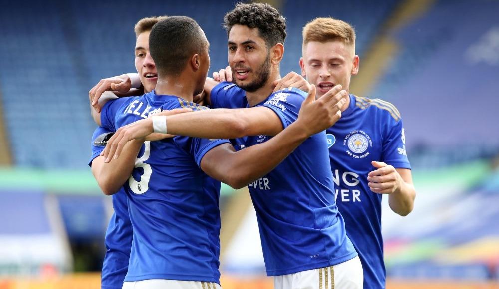 Leicester City evinde kazandı
