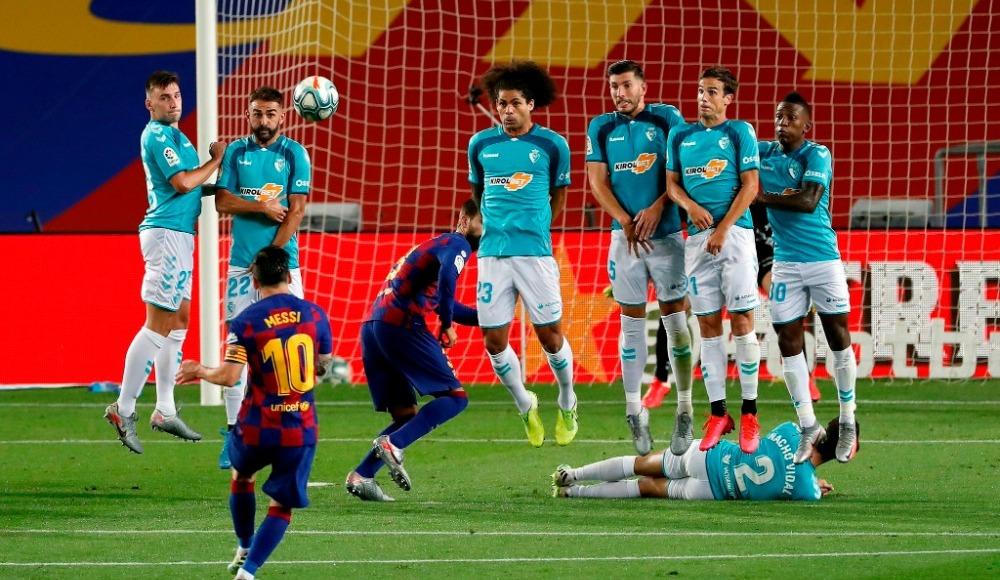 Barcelona evinde kayıp!