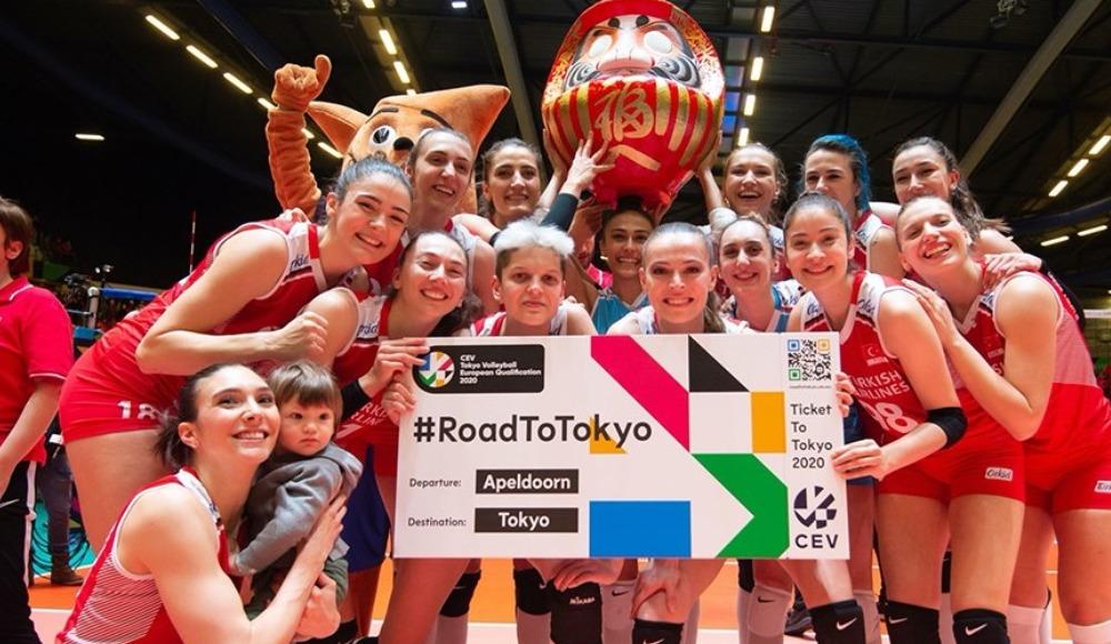 Kadın milli voleybolcuların Tokyo 2020'deki maç programı belli oldu