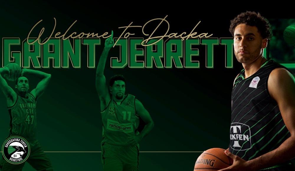 Darüşşafaka Tekfen, Grant Jerrett'ı transfer etti