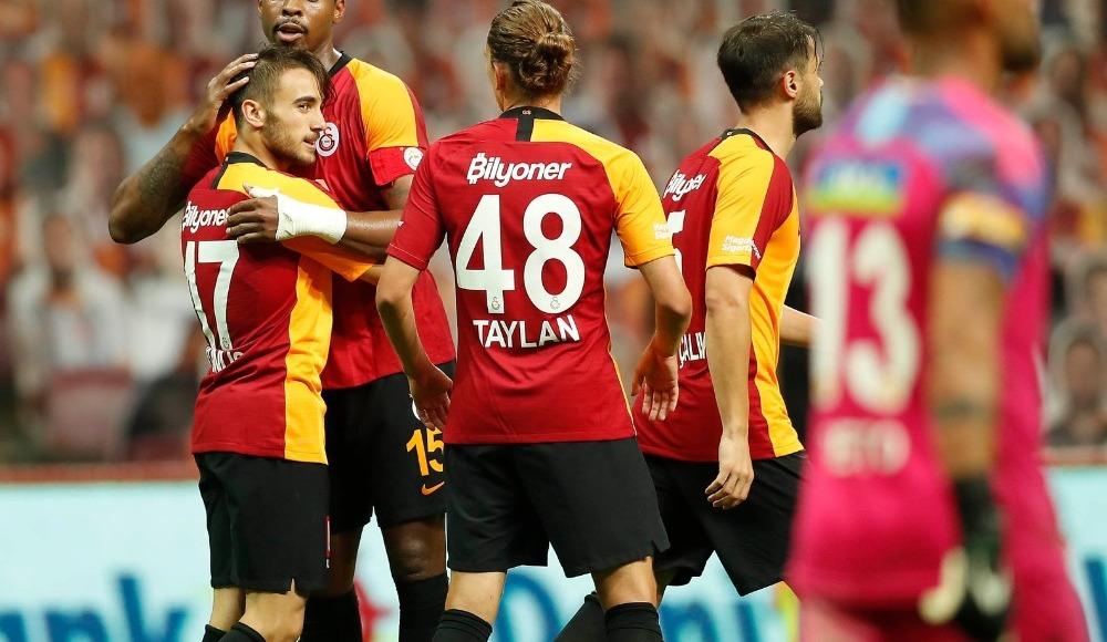 Yunus Akgün Süper Lig'deki ilk golünü kaydetti