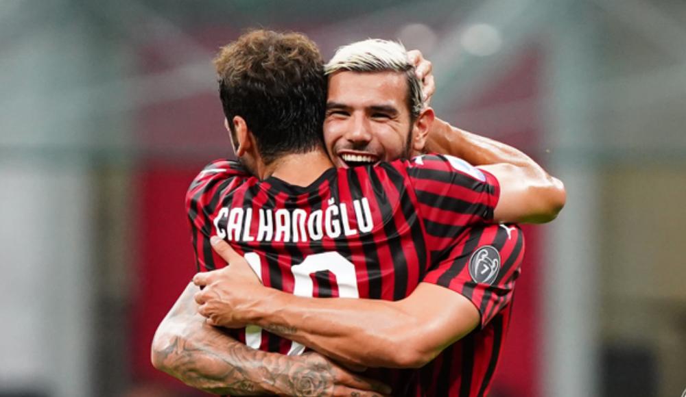 Hakan şov yaptı, Milan rahat kazandı