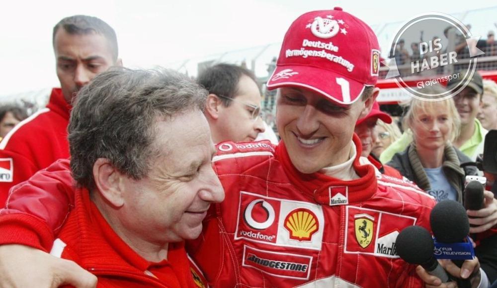 Michael Schumacher'in son durumunu açıkladı
