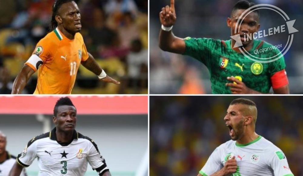 Afrika futbolunun incileri! Yolları Türkiye'den de geçti...
