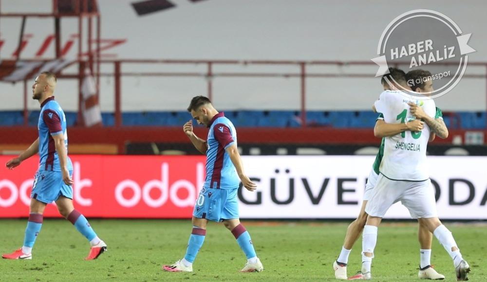 Trabzonspor'da şampiyonluk böyle gitti!