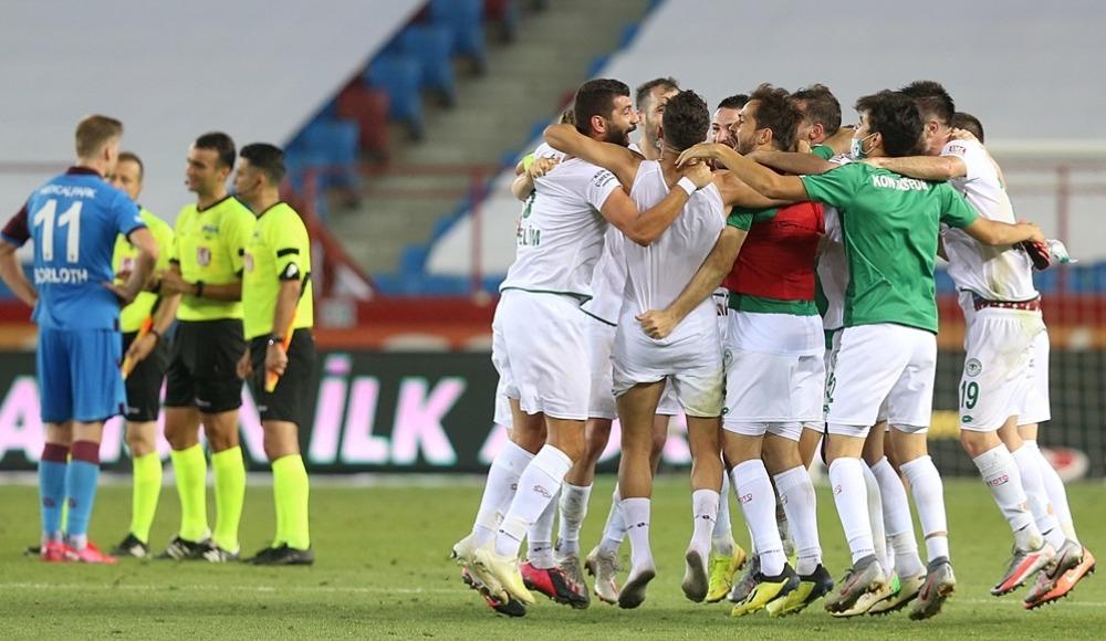 Konyasporlu futbolcular 7 gollü maç sonrası konuştu!