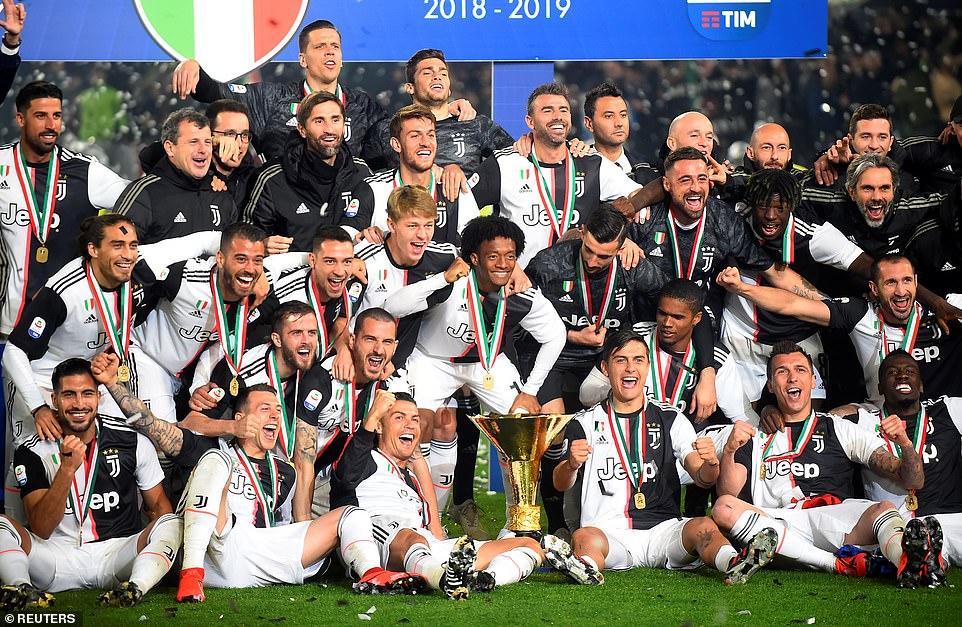 İtalya'daki şampiyon kulüpler