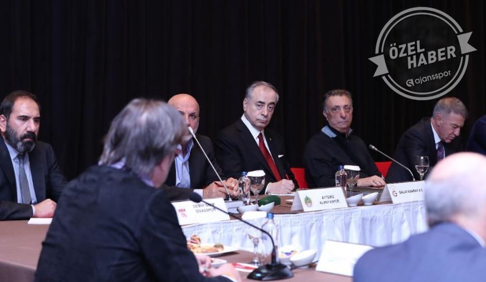 Kulüpler Birliği'nde kritik toplantı