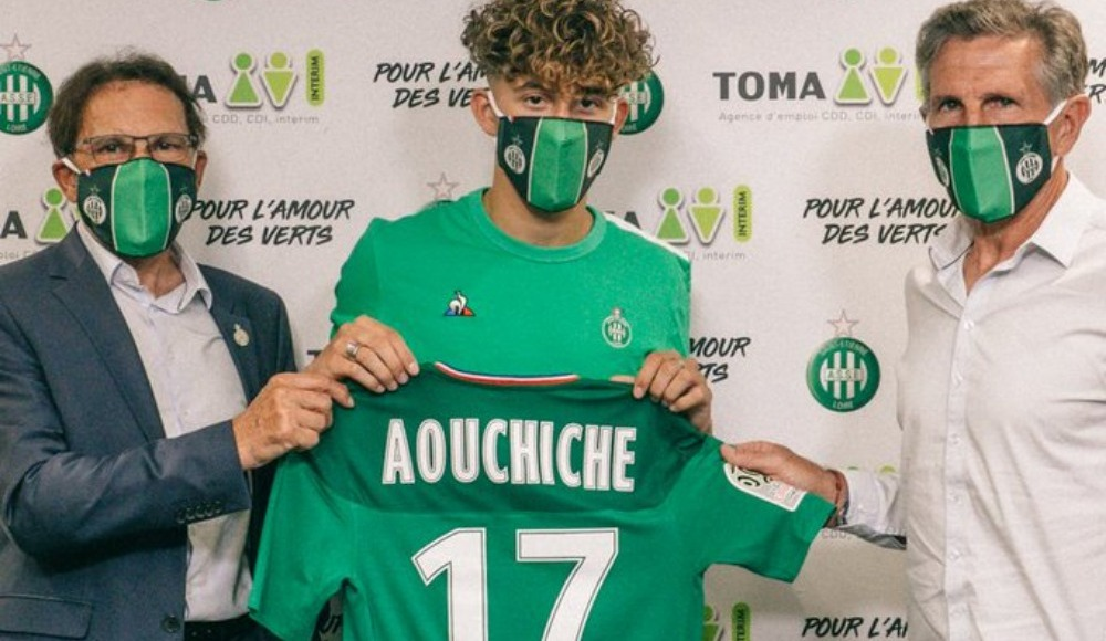 Saint Etienne, Adil Aouchiche'i transfer etti