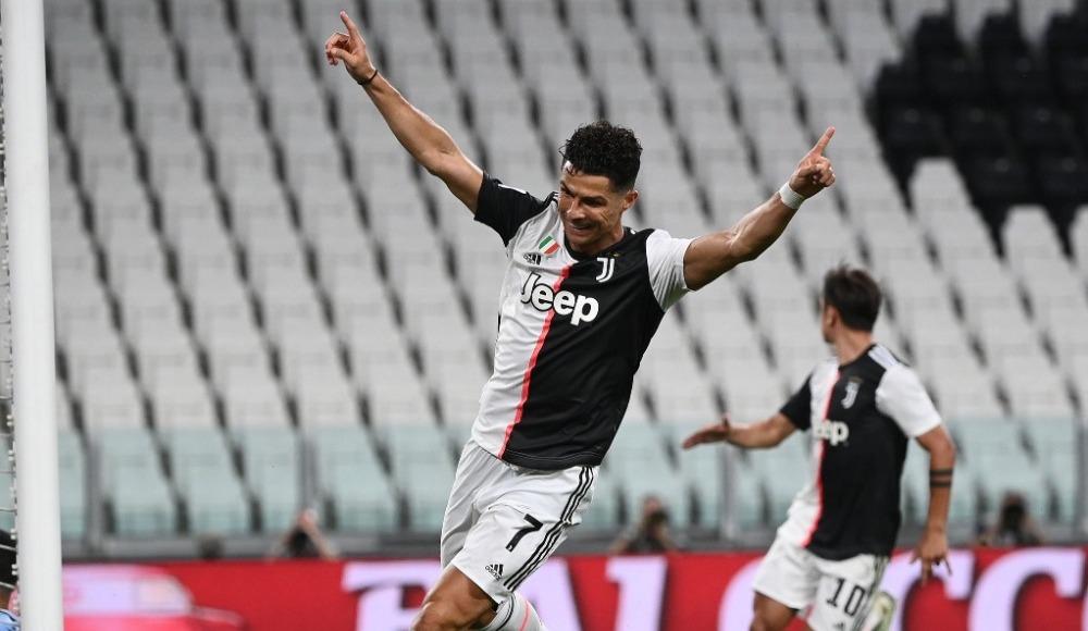Ronaldo'nun rekoruyla Juventus kazandı