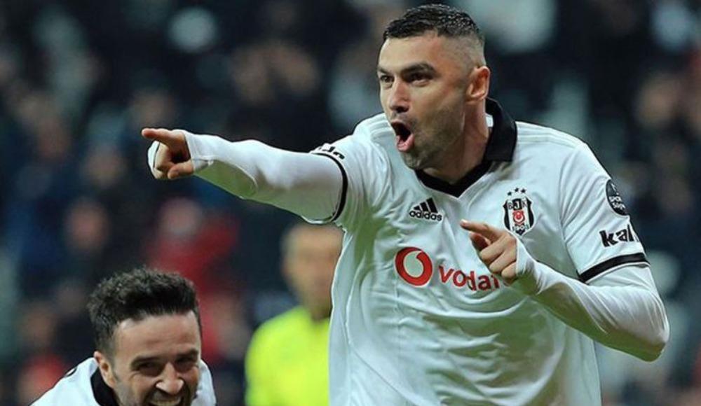 Burak Yılmaz'dan Beşiktaş'a veda