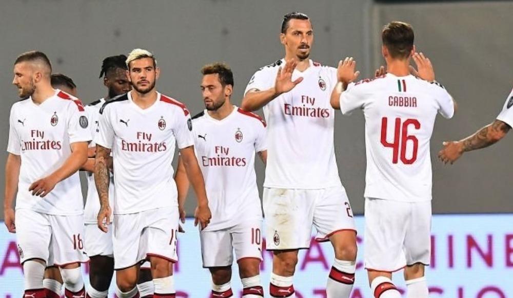 Hakan verdi, Ibrahimovic attı! Milan seriyi 9'a çıkardı...