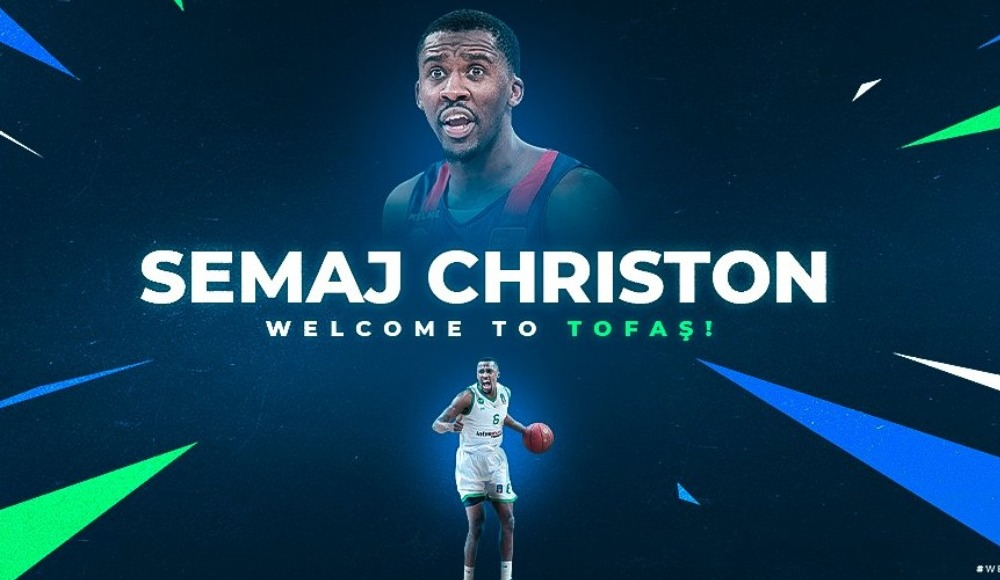 Semaj Christon TOFAŞ'ta!