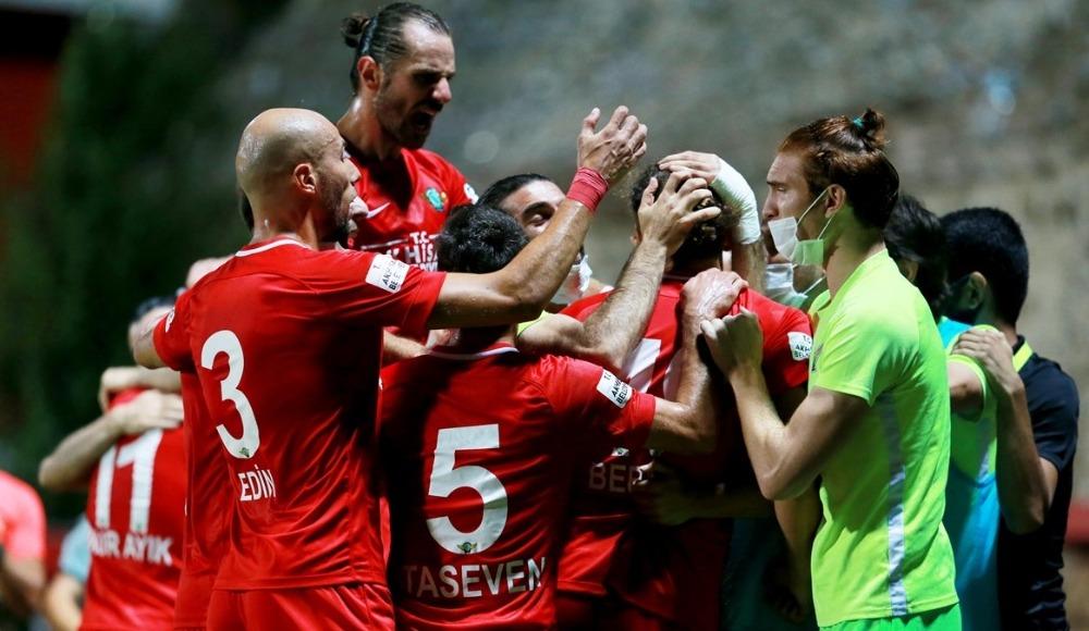 Akhisarsporlu futbolcuların maç sonu değerlendirmeleri