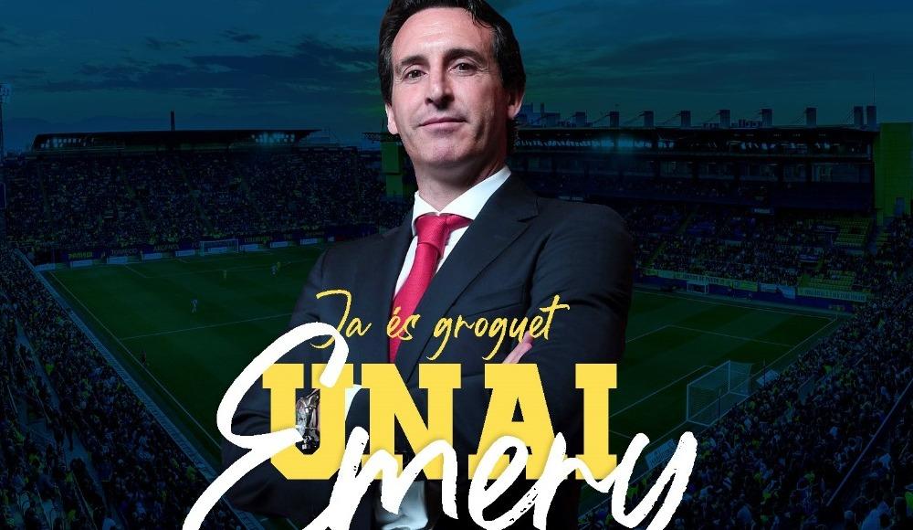 Villarreal'de teknik direktörlüğe Unai Emery getirildi