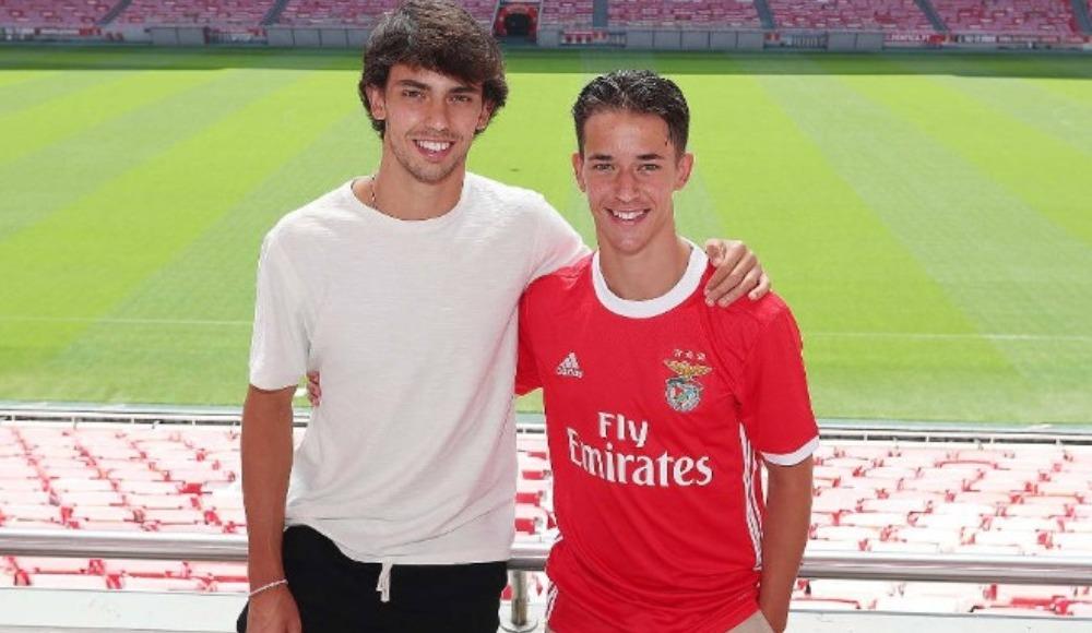 Felix'in kardeşi de Benficalı oldu
