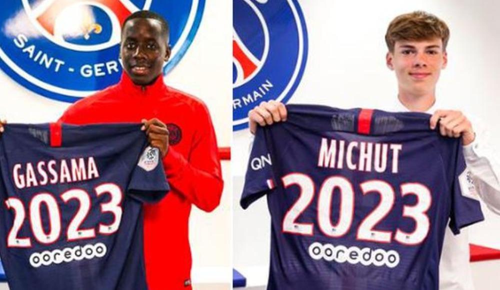 PSG'den iki genç futbolcuya profesyonel sözleşme