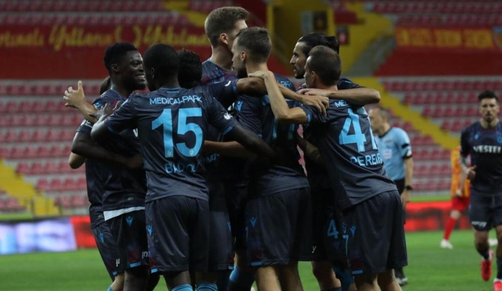 Trabzonspor kazandı, Kayserispor küme düştü!