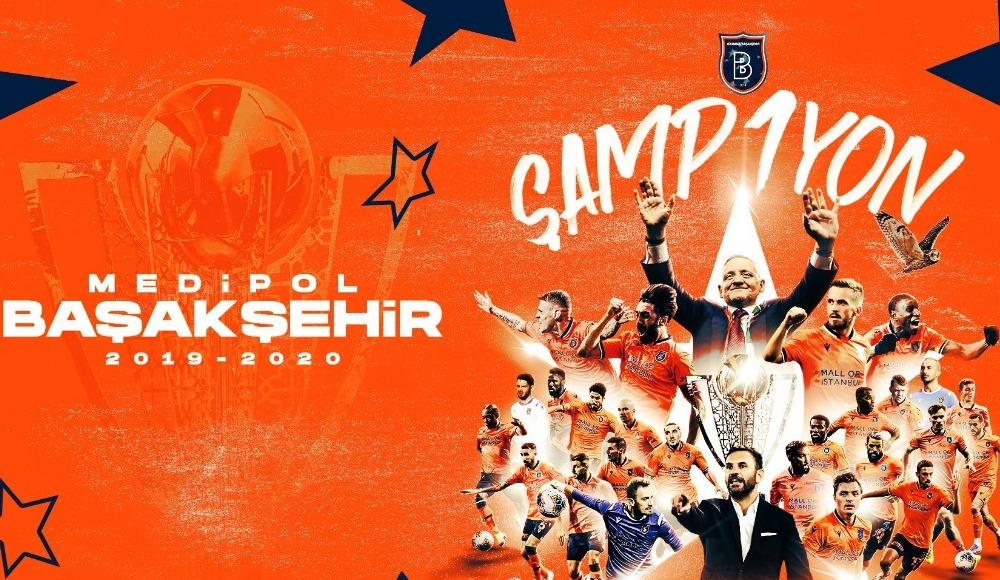 Süper Lig'de 34. hafta maçları tamamlandı! Şampiyon Başakşehir...