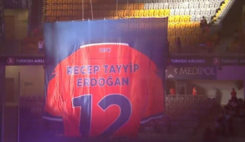 Cumhurbaşkanı Erdoğan'ın forması emekli edildi