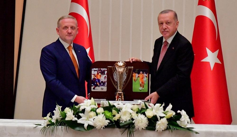 """Göksel Gümüşdağ: """"Sayın Cumhurbaşkanımıza kabulünden dolayı teşekkür ediyorum"""""""