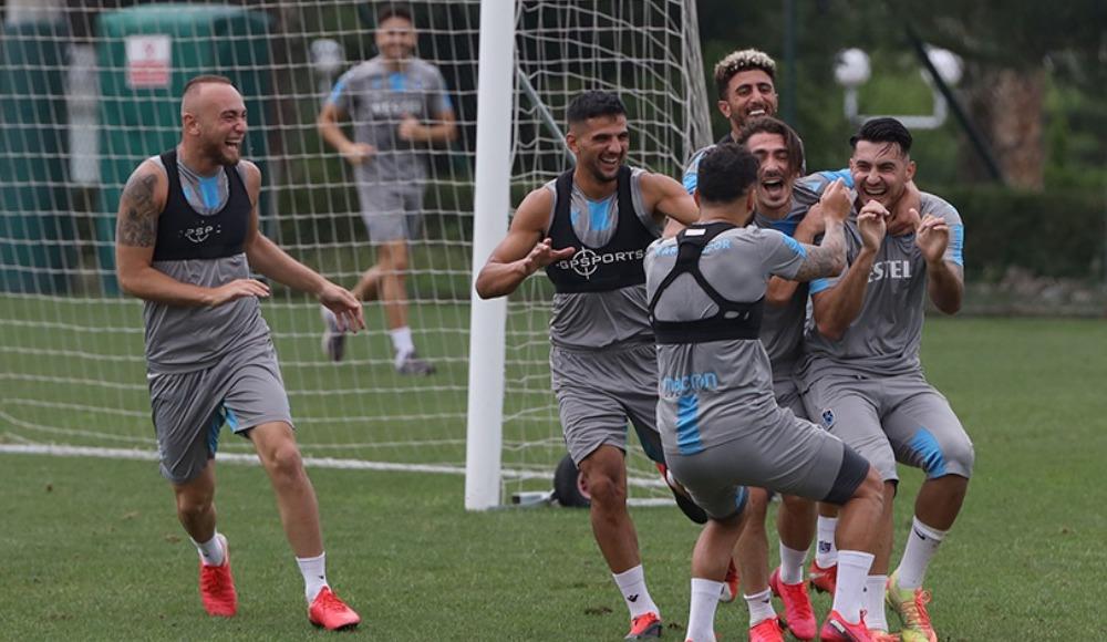 Trabzonspor, Alanyaspor maçı hazırlıklarını tamamladı! Nwakaeme...