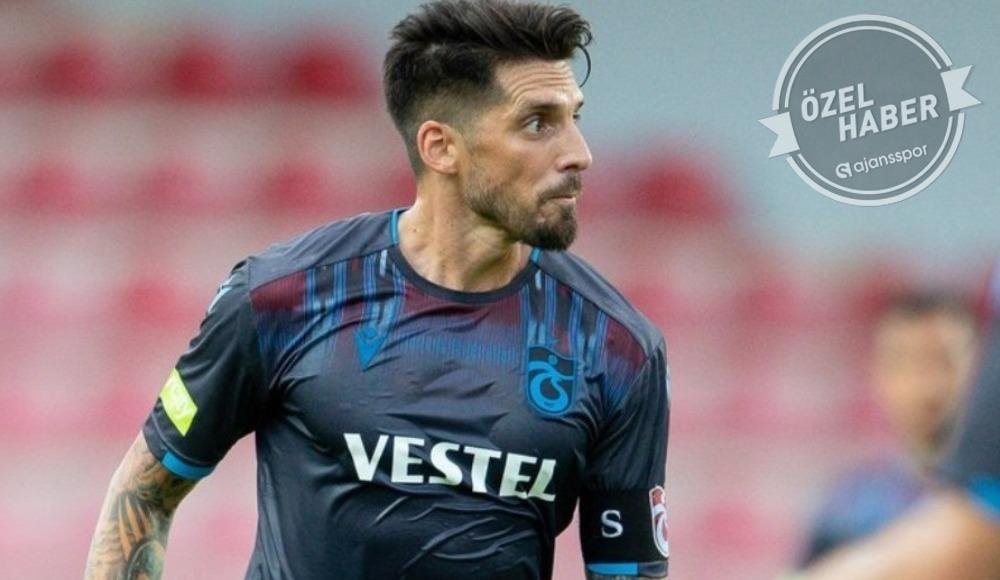 Trabzonspor'da Sosa son maçına çıktı