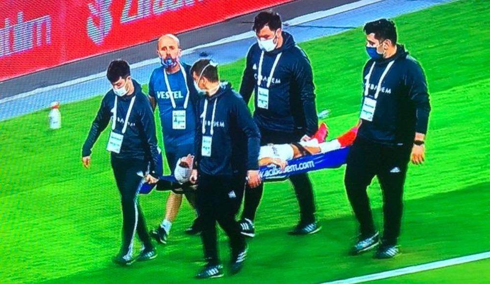 Trabzonspor'da Novak sakatlandı