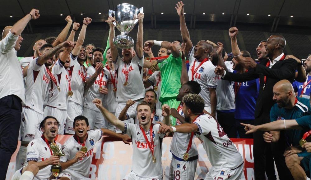 Trabzonspor teselliyi kupada buldu