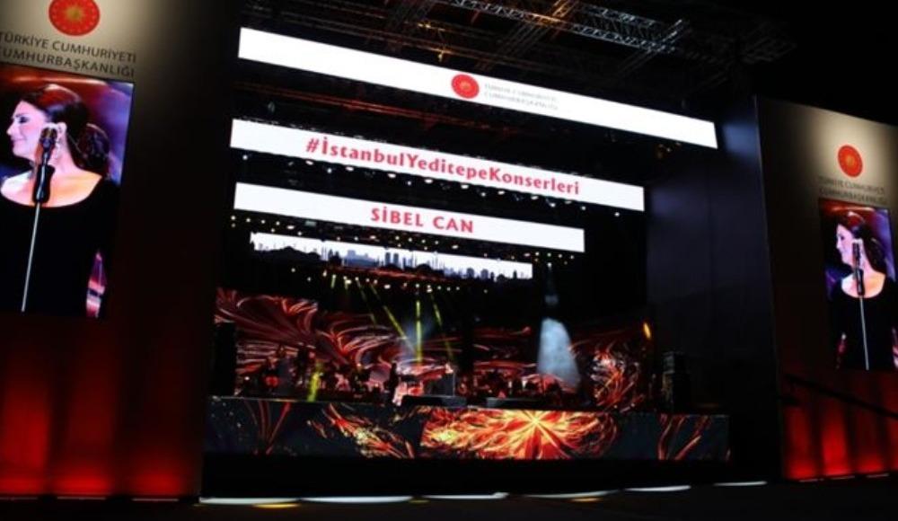 """Cumhurbaşkanlığı """"İstanbul Yeditepe Konserleri canlı izle"""