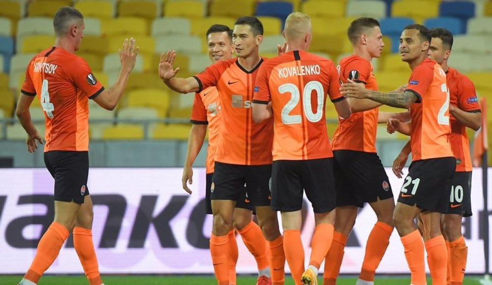 Shakhtar Donetsk çeyrek finalde