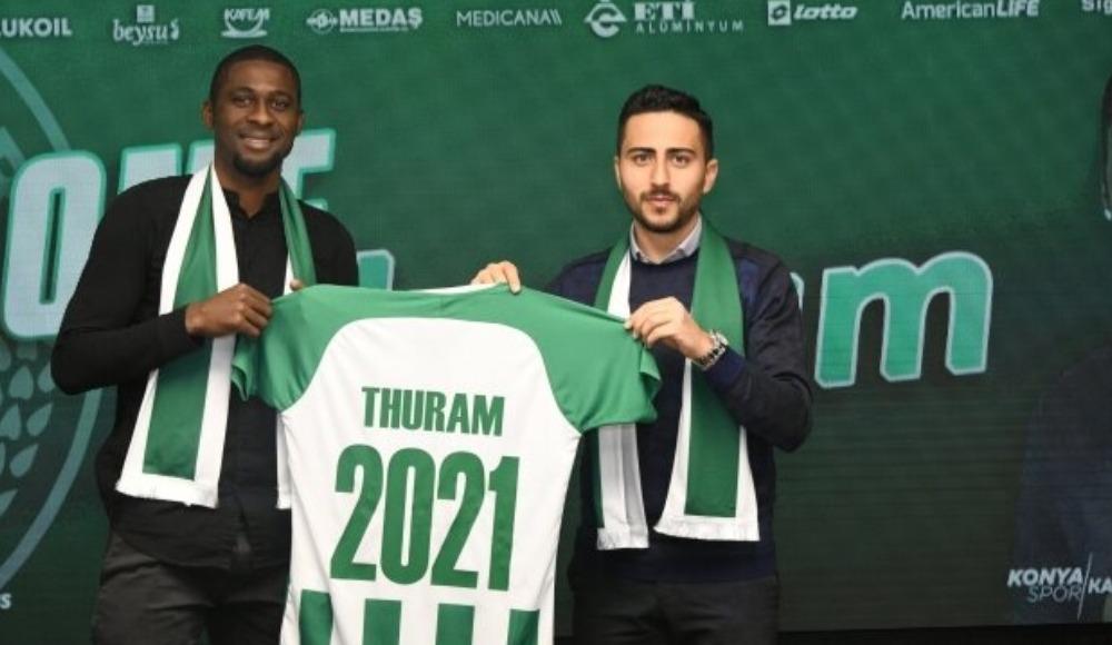 Konyaspor'un oyuncusu Thuram, Pas Lamia'ya mı dönüyor?