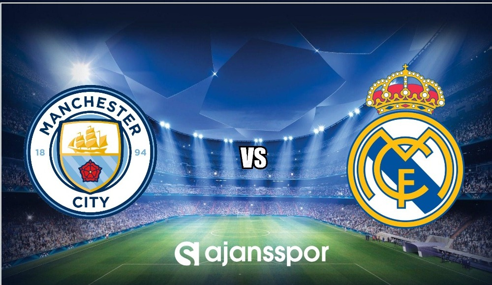 Manchester City - Real Madrid (Canlı Skor)