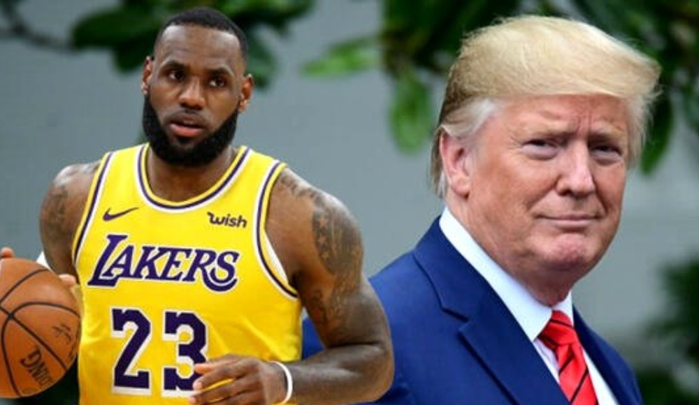 Donald Trump ve LeBron James birbirine girdi!