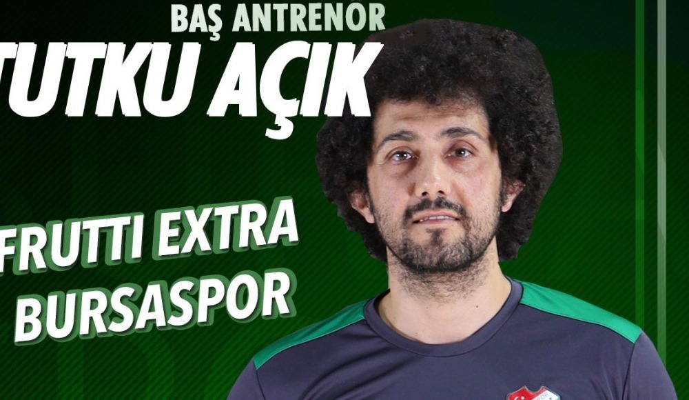 Frutti Extra Bursaspor'un başantrenörü belli oldu