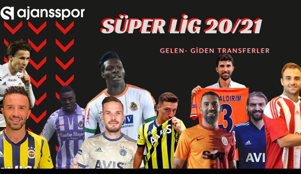 İşte Süper Lig'de gelen ve giden oyuncular...