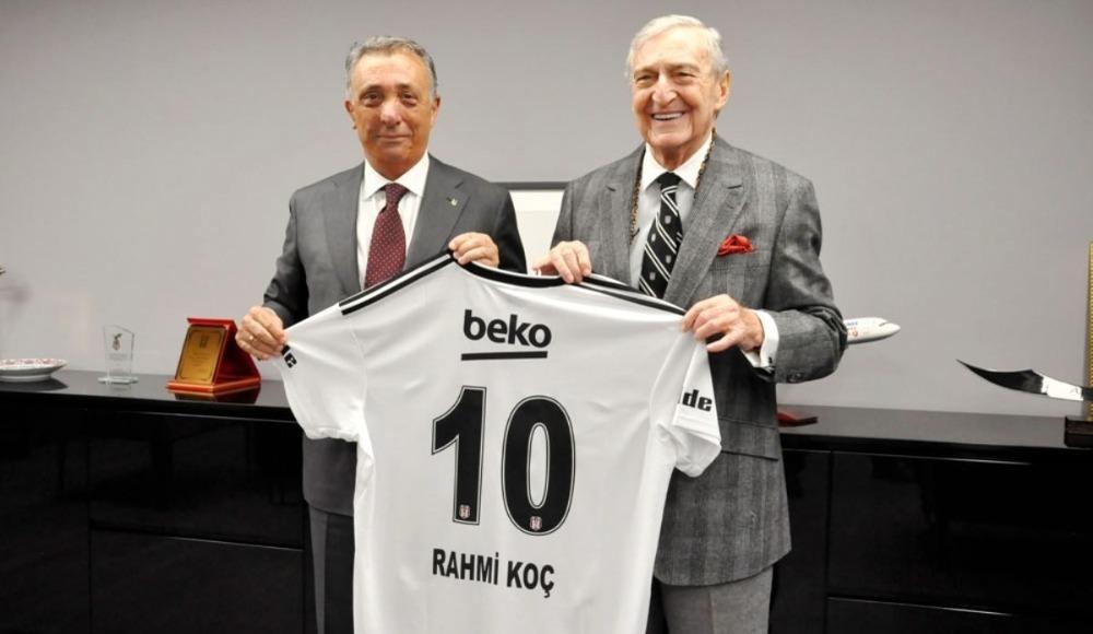 Rahmi Koç'tan Beşiktaş'a 10 milyon!
